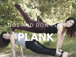 Breaking Down Plank Pose