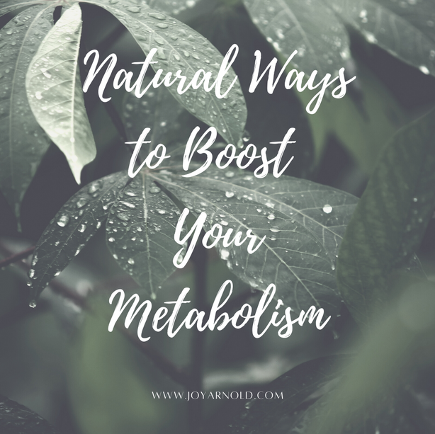 Natural Metabolism Boosters