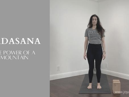 Breaking Down Tadasana (Mountain Pose)