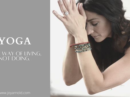 Living Yoga Off The Mat