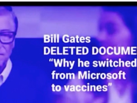 Bill Gates Deleted Documentary Why He Switched From Microsoft To Vaccines