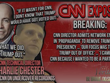"""""""Yeah. Fear sells."""" says CNN Technical Director"""