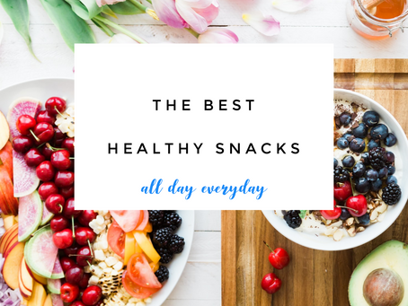 The Best Healthy Snacks