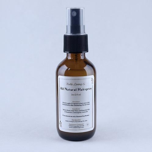 All Natural Hairspray