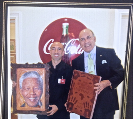 World Happiness Day™ 2011 with Coca-Cola Chairman