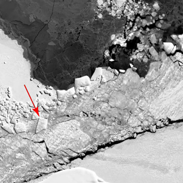 NASA Releases Aerial Images Of That Baffling Iceberg