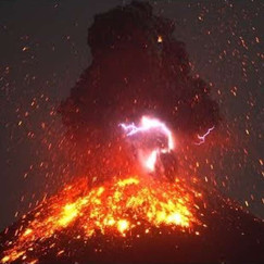Watch As Indonesia's Anak Krakatau Erupts With Lava and Lightning