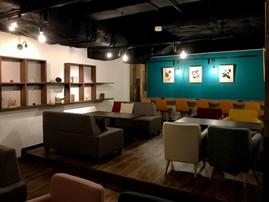 ミライスト CAFE x SWEETS x BAR 店舗空間意匠