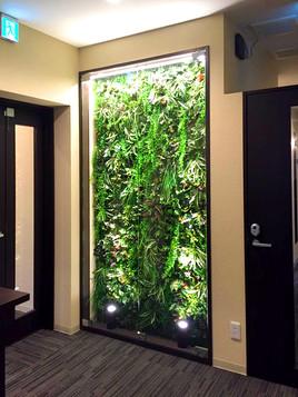 SAKURA S1 壁面緑化計画