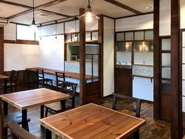 cafe'小春日和 店舗意匠