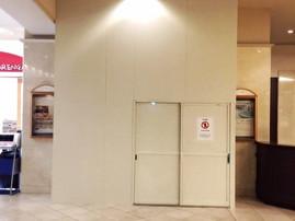 ホテルエミシア 1Fホール装飾壁工事 着工