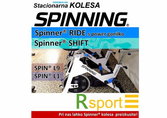 Stacionarna sobna kolesa SPINNER® | SPINNING® kučni i profesionalni dvoranski bicikli | RSPORT, Ljubljana