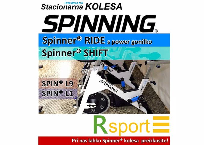 Stacionarna sobna kolesa SPINNER®   SPINNING® kučni i profesionalni dvoranski bicikli   RSPORT, Ljubljana