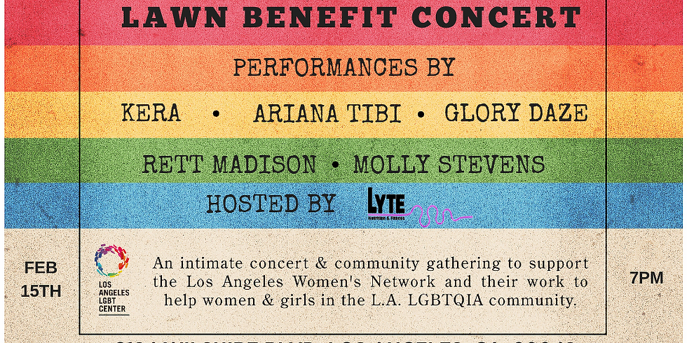 VIP - Benefit Concert for LAWN