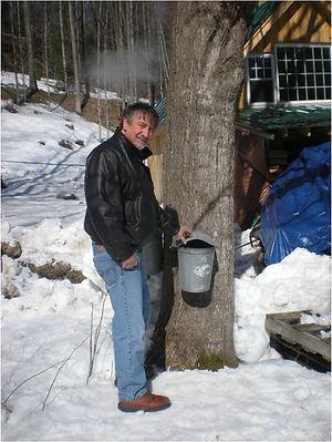 Ed Metcalfe, owner of Vermont Distillers