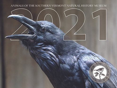 2021 Animals of the Southern Vermont Natural History Museum Calendar