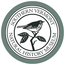 Southern Vermont Natural History Museum Hermit Thrush Logo