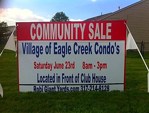4ft tall x 6ft wide Community Sale 44