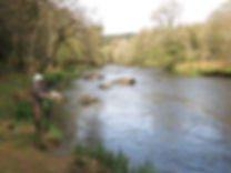 Jean-baptiste Vidal guide de pêche à la mouche en Bretagne