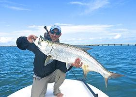 Pêche du tarpon à Cuba