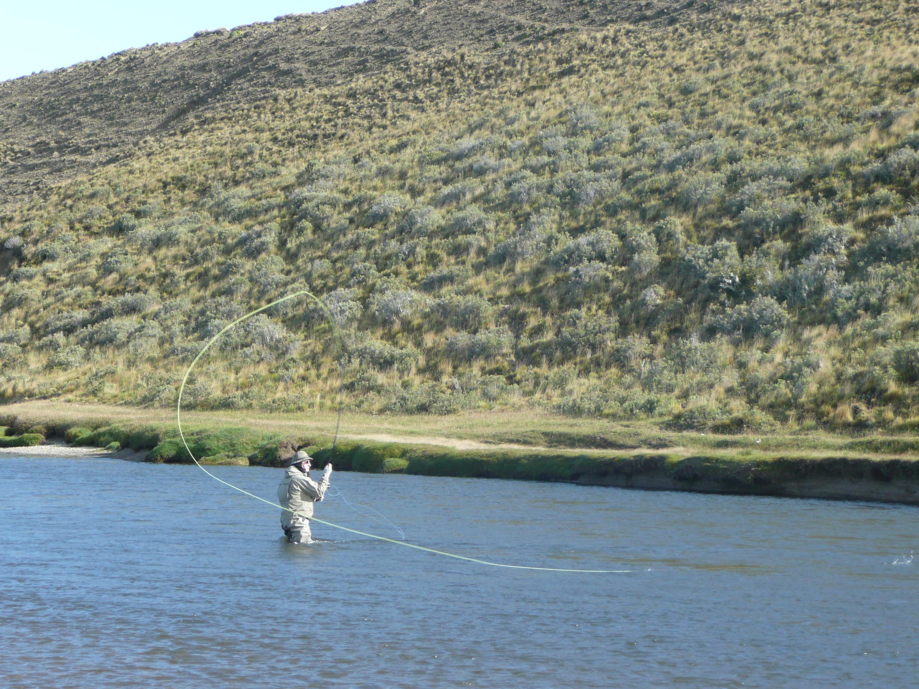 Spey Cast sur le Rio Grande