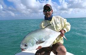 Pêche du permit à Cuba