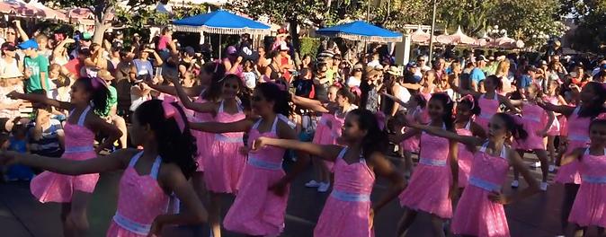 Cute Moves Kids dance at Disneyland