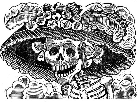 What's Up with All of the Skeletons in Mexican Art?