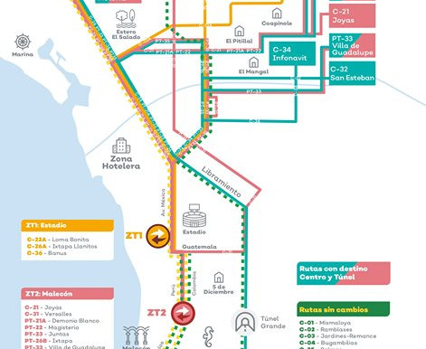 Recent changes to the local and ATM bus routes.