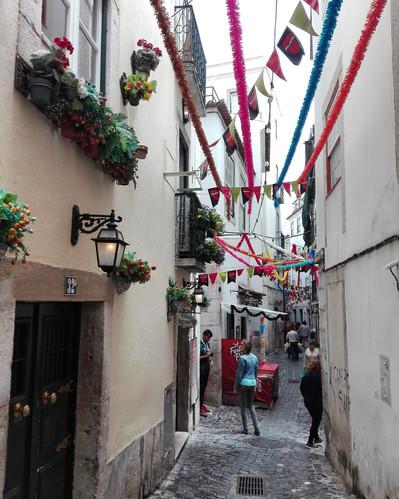 Lisbon in June