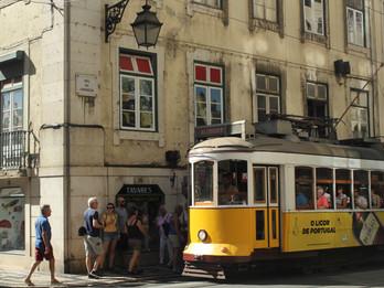 My first postcard from Lisbon