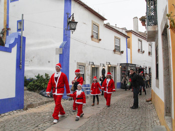 Visitar Óbidos no Natal -Visiting Óbidos on Christmas season