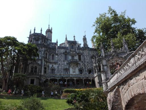 Visiting Quinta da Regaleira in Sintra