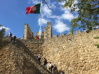 Castelo de São Jorge, a must visit attraction to see in Lisbon with the Family