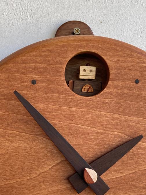新作時計です