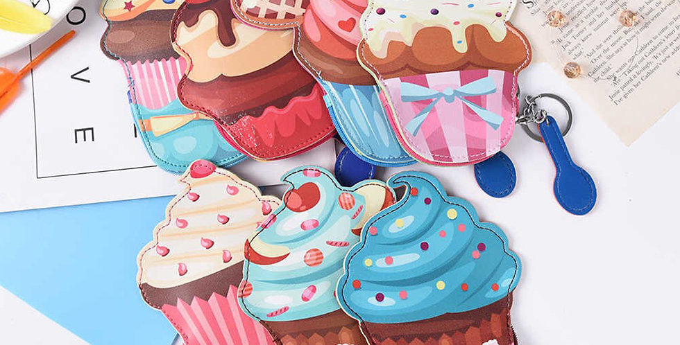 Porta-moedas Cupcake