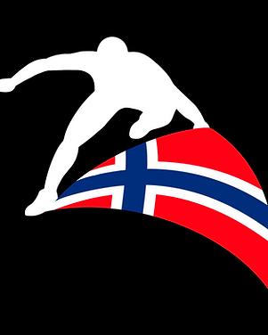 Nocra logo, uten tekst, svart bakgrunn.p