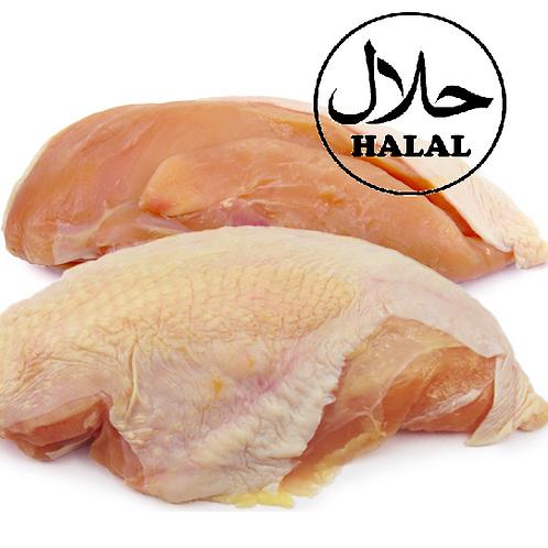 Chicken Breasts, With Bone, Frozen