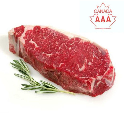 Striploin Steak, 10 oz, Canada AAA