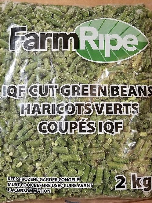 Green Beans, Cut, Frozen, 1kg