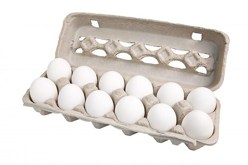 Large White Eggs, 1 doz