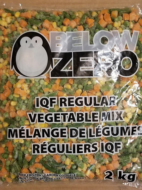 Mixed Vegetables, Frozen, 2kg