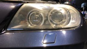 BMW3シリーズ/ヘッドライトリペア