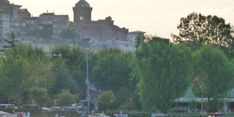 Haliç'ten Tekneyle Cibali-Fener-Balat