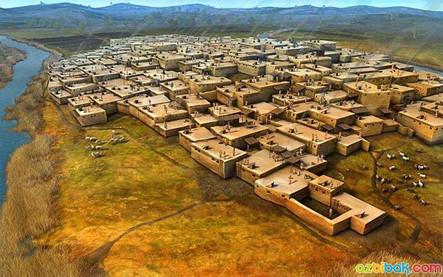 Çatalhöyük-Neolitik-Kenti-Görüntüsü.jpg