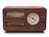 bigstock-antique-radio-on-white-backgro-