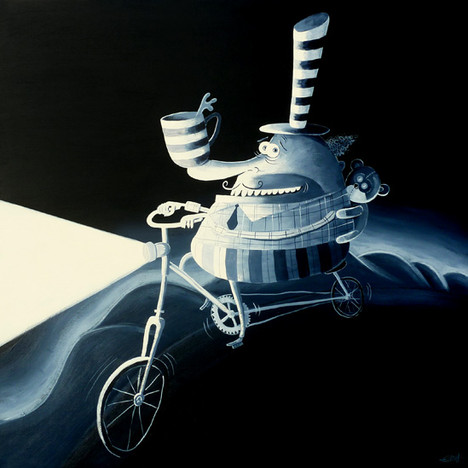 The night cyclist (2018)