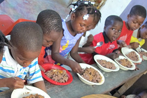 These kids where found wondering on the streets now they have a roof, education and food