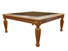 Coffee Table – Beveled glass top