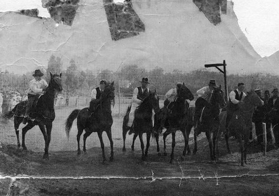 Kalamunda Show 1898 Horse Race